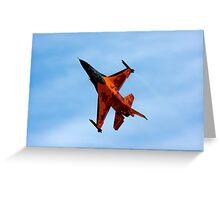 F16 AM Royal Netherlands Greeting Card