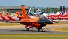 After a great display F16  AM Royal Netherlands . by SWEEPER