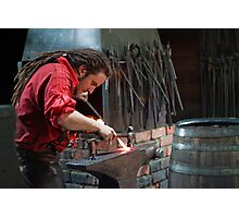 The Younger Blacksmith Photographic Print