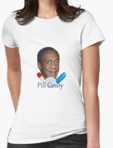 Pill Cosby Womens Fitted T-Shirt