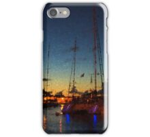Gustavia, St. Barts Harbor Impressions iPhone Case/Skin