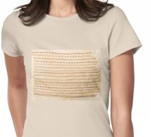 Stitched sample Womens Fitted T-Shirt