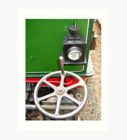 Handbrake and Tail lamp Art Print