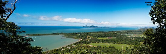 Dunk Island- View from Bicton Hill by Vicki Moritz