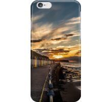 Whitby Beach Huts iPhone Case/Skin