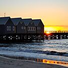 Busselton Jetty at Sunset by Coralie Plozza