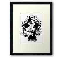 Death The Kid - Soul Eater Framed Print