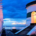 Dili Lighthouse at dusk by Jorge de Araujo