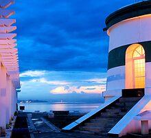 Dili Lighthouse at dusk by Jorge de Araujo
