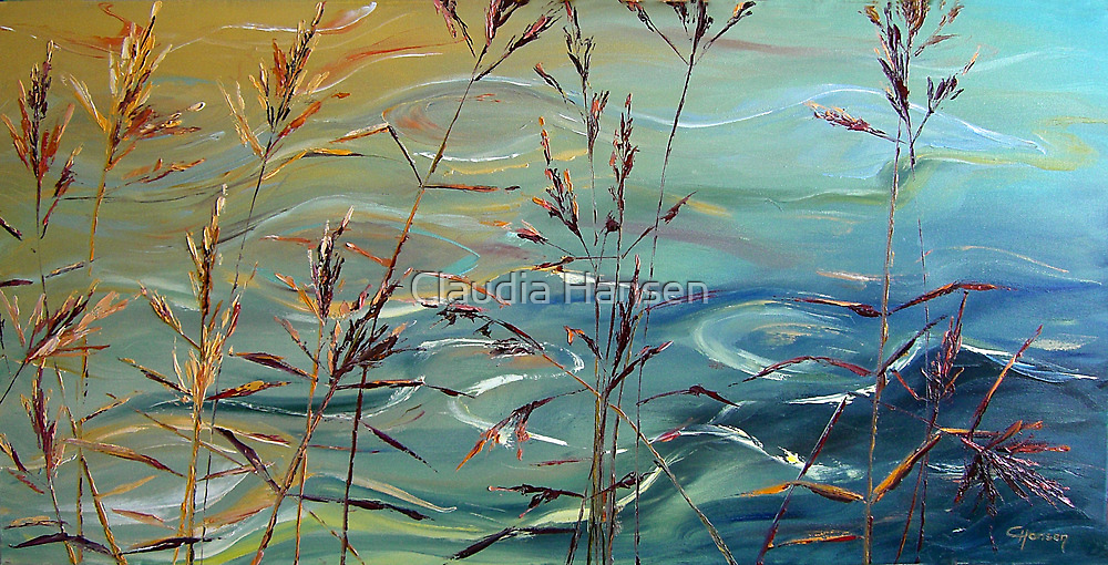 Reed Grass II by Claudia Hansen