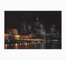 0352 Melbourne at night Kids Tee