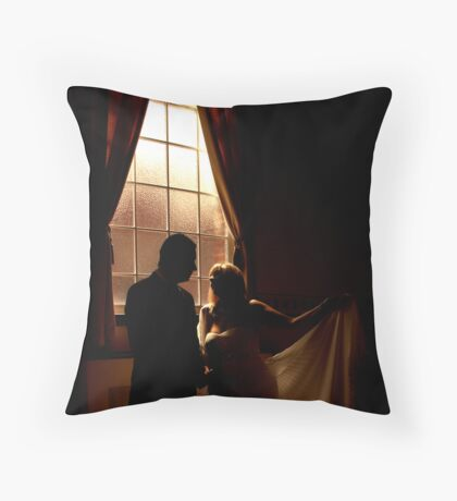 Paul and Joannes wedding Throw Pillow