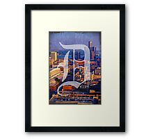 Detroit 1 More Time Framed Print
