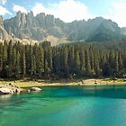 Lago di Carezza - Dolomiti - Italy by Arie Koene
