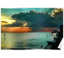 A Clearwater Sunset Poster