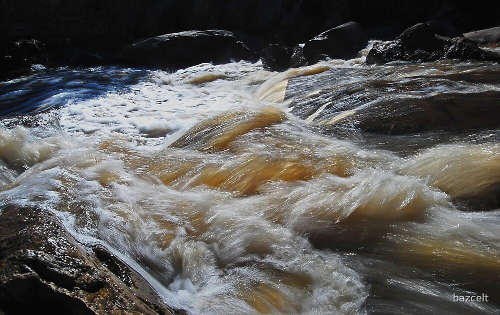 Raging Waterfall by bazcelt