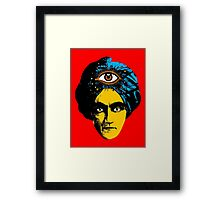 The all seeing eye Framed Print