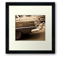 New Yorker - Car Framed Print
