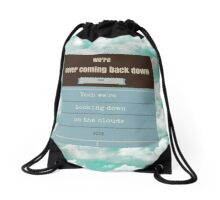 """One Direction- """"Clouds"""" Drawstring Bag"""