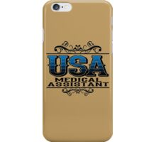 USA MEDICAL ASSISTANT iPhone Case/Skin