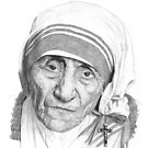 Mother Teresa by Ronny Hart