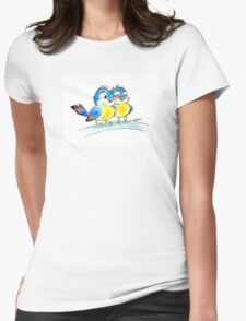 Romantic love 2 bluebirds couple T-Shirt