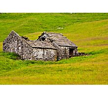 Ruined Barn Photographic Print
