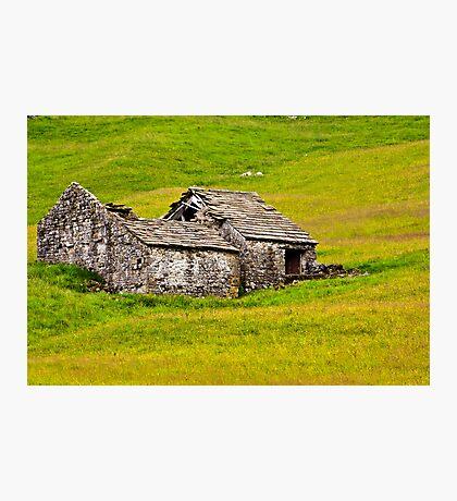 Ruined Barn Photographic Print