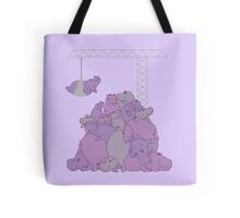 Hippopotapile - the more the merrier! Tote Bag