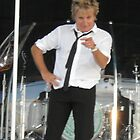 Rod Stewart in Inverness by GUS MACDONALD