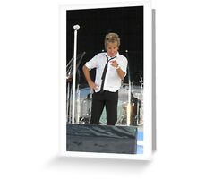 Rod Stewart in Inverness Greeting Card