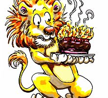 Too Many Candles - Lion Birthday by MCWebster