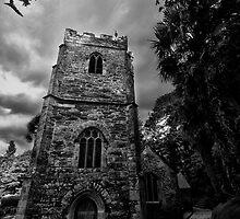 St Just In Roseland Church by Simon Marsden
