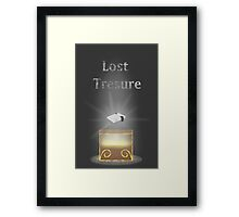 Lost Treasure - NES (Nintendo Entertainment System) Framed Print