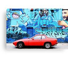 Porsche 924 Canvas Print