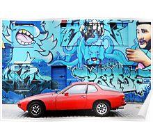 Porsche 924 Poster