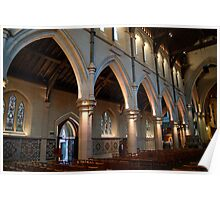 Christchurch Cathedral interior Poster