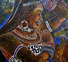 gypsy girl by fehmida haider