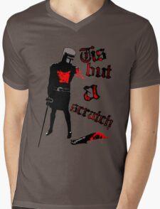 Tis but a scratch - Monty Python's - Black Knight Mens V-Neck T-Shirt