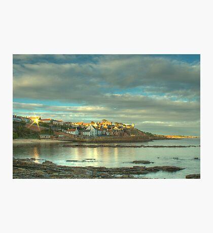 Evening Sun - Crail Harbour Photographic Print