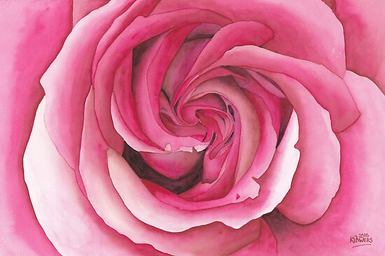 Vertigo Rose by Ken Powers