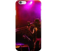 Jazz Trio - Musical Capriccio in Purple and Yellow iPhone Case/Skin