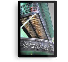 Warren's, Houston Metal Print