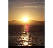 Sunset in San Francisco Photographic Print