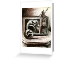 Reality TV Sketch Greeting Card