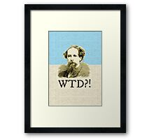 What The Dickens?! Framed Print