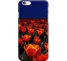 Field of Red Tulips iPhone Case/Skin