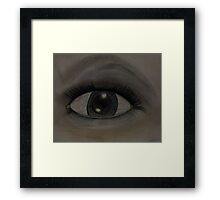 Emotional Eye.... Framed Print