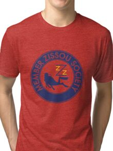 Member Zissou Society (detailed) Tri-blend T-Shirt