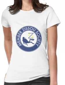 Member Zissou Society (detailed) Womens Fitted T-Shirt